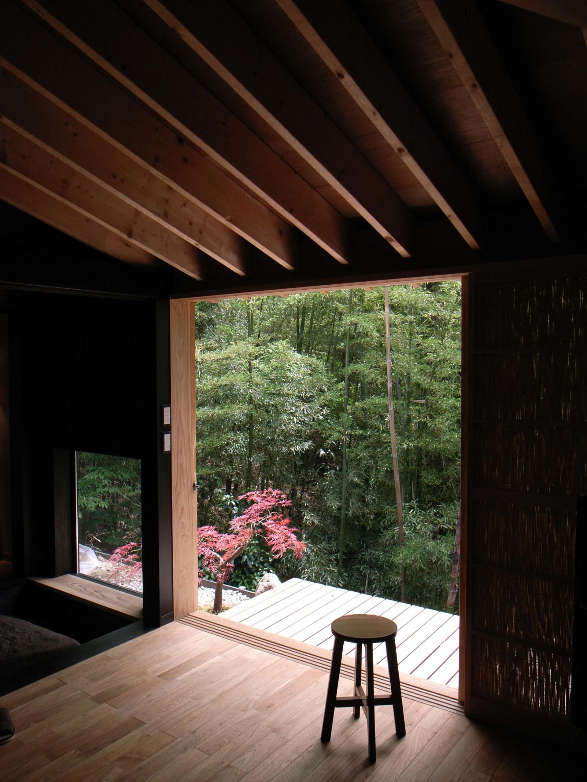 竹林の借景