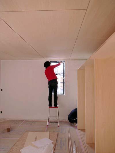 壁塗りセルフビルド1