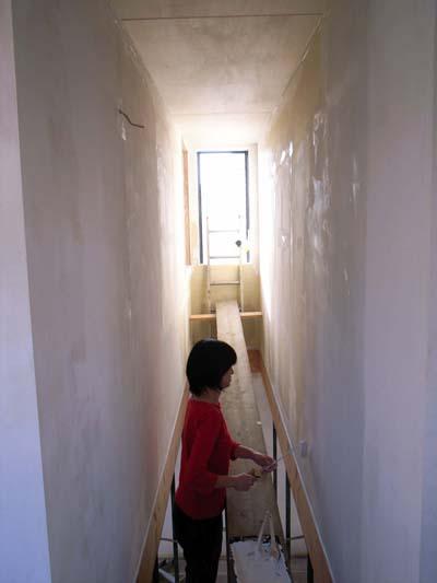 セルフビルド壁塗り003