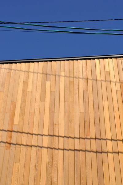 レッドシダー外壁
