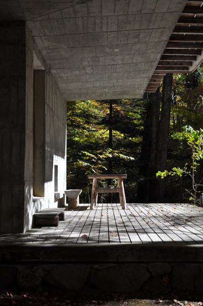 軽井沢の山荘
