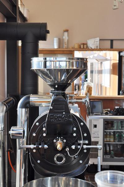 ツバメコーヒー焙煎器