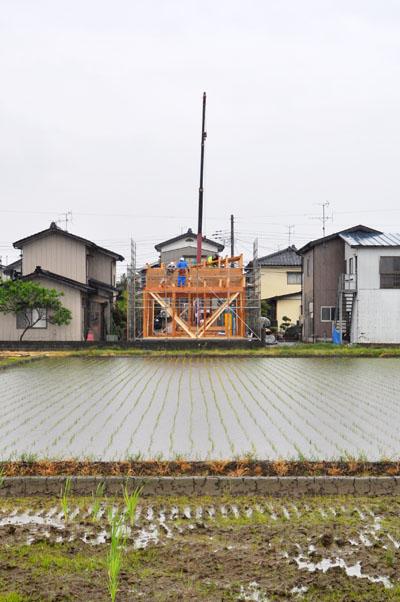 長岡の平屋建て方
