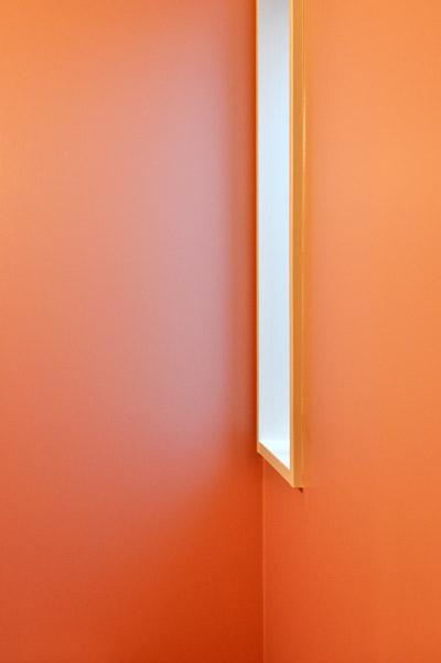 朱鷺色の壁