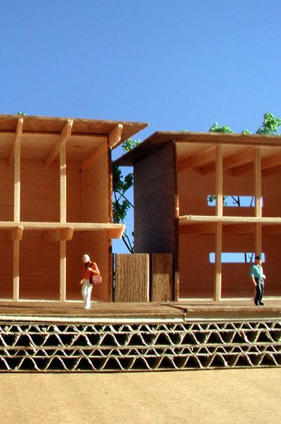 江ノ島小屋模型