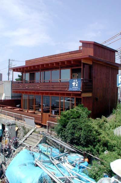 江ノ島小屋完成