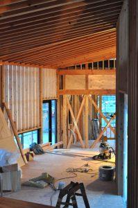 上越高田の平屋内装工事