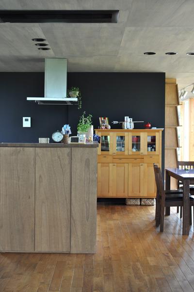 対面式キッチンカウンター