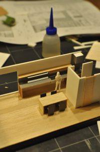 インテリア模型作製