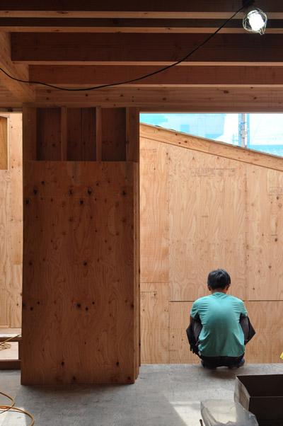 立川壁下地工事