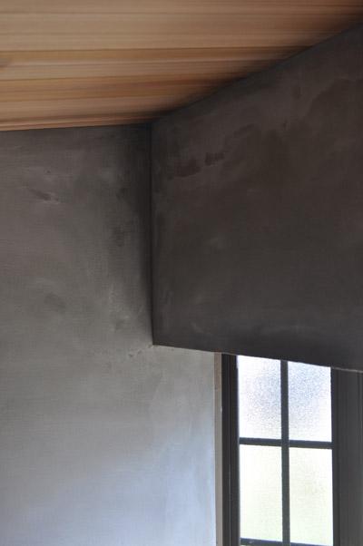 浴室モルタル塗り