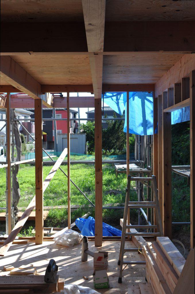 外壁下地工事