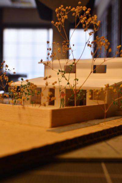 花園町建築模型作製001
