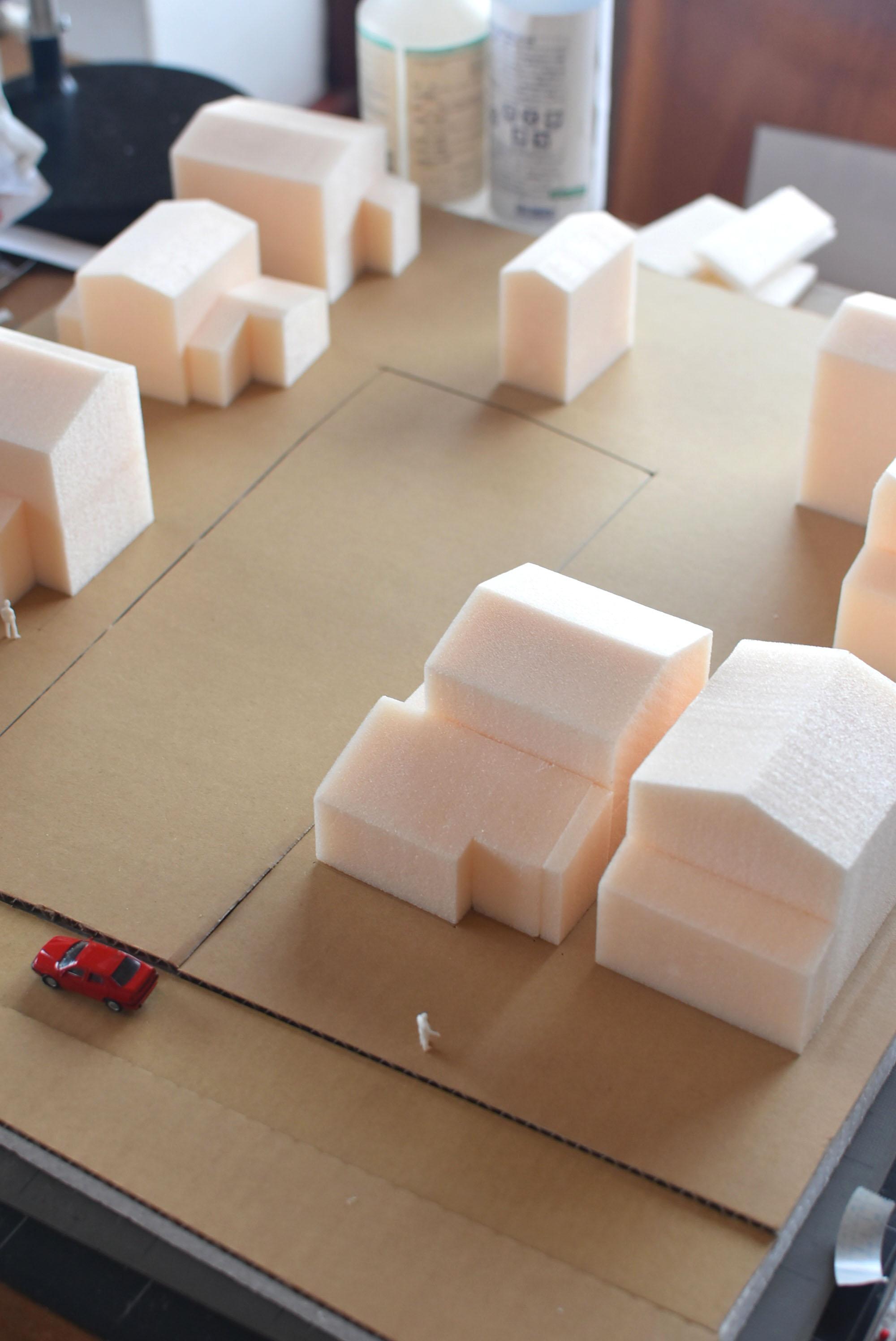 敷地周辺模型