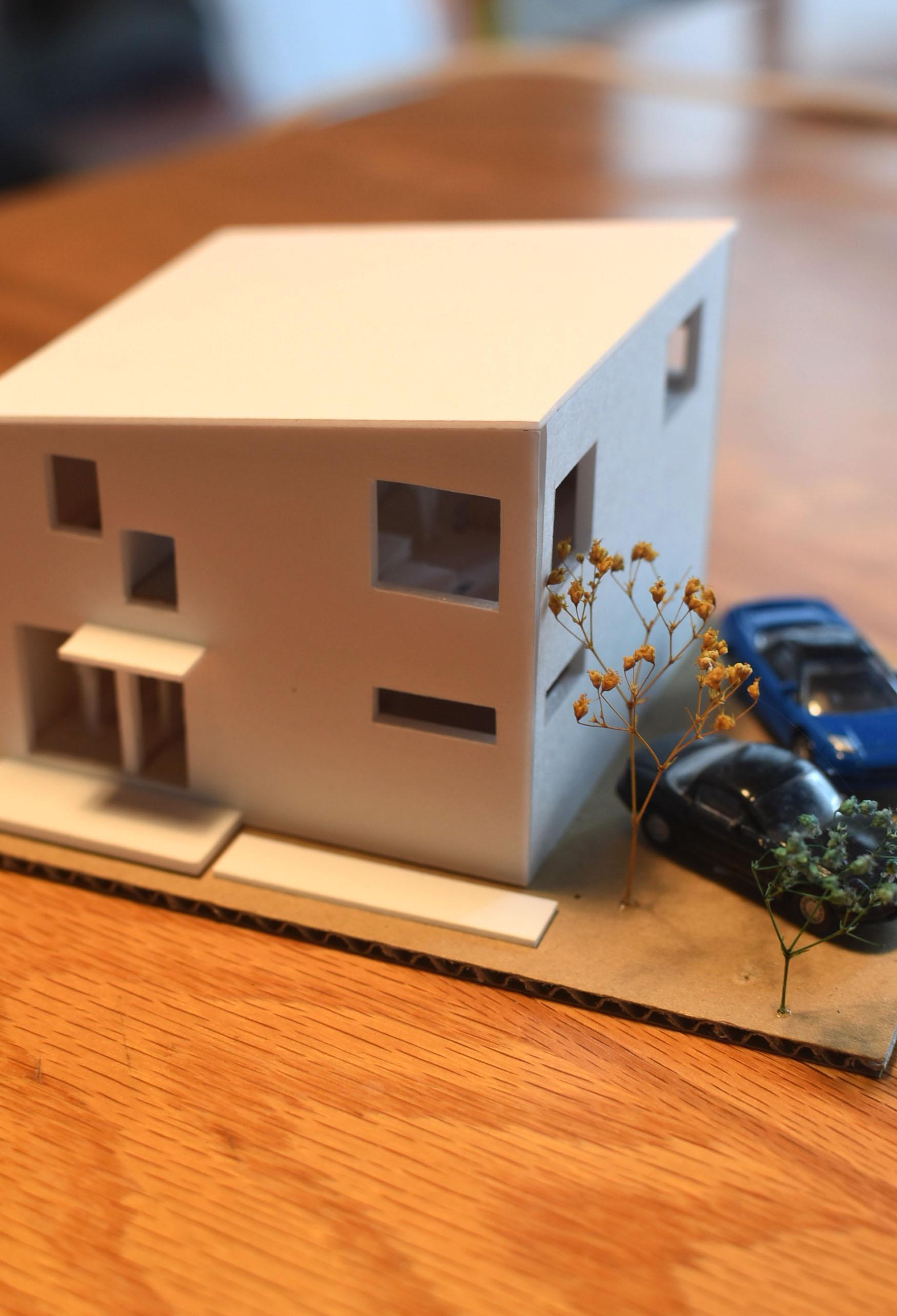 標準化住宅模型