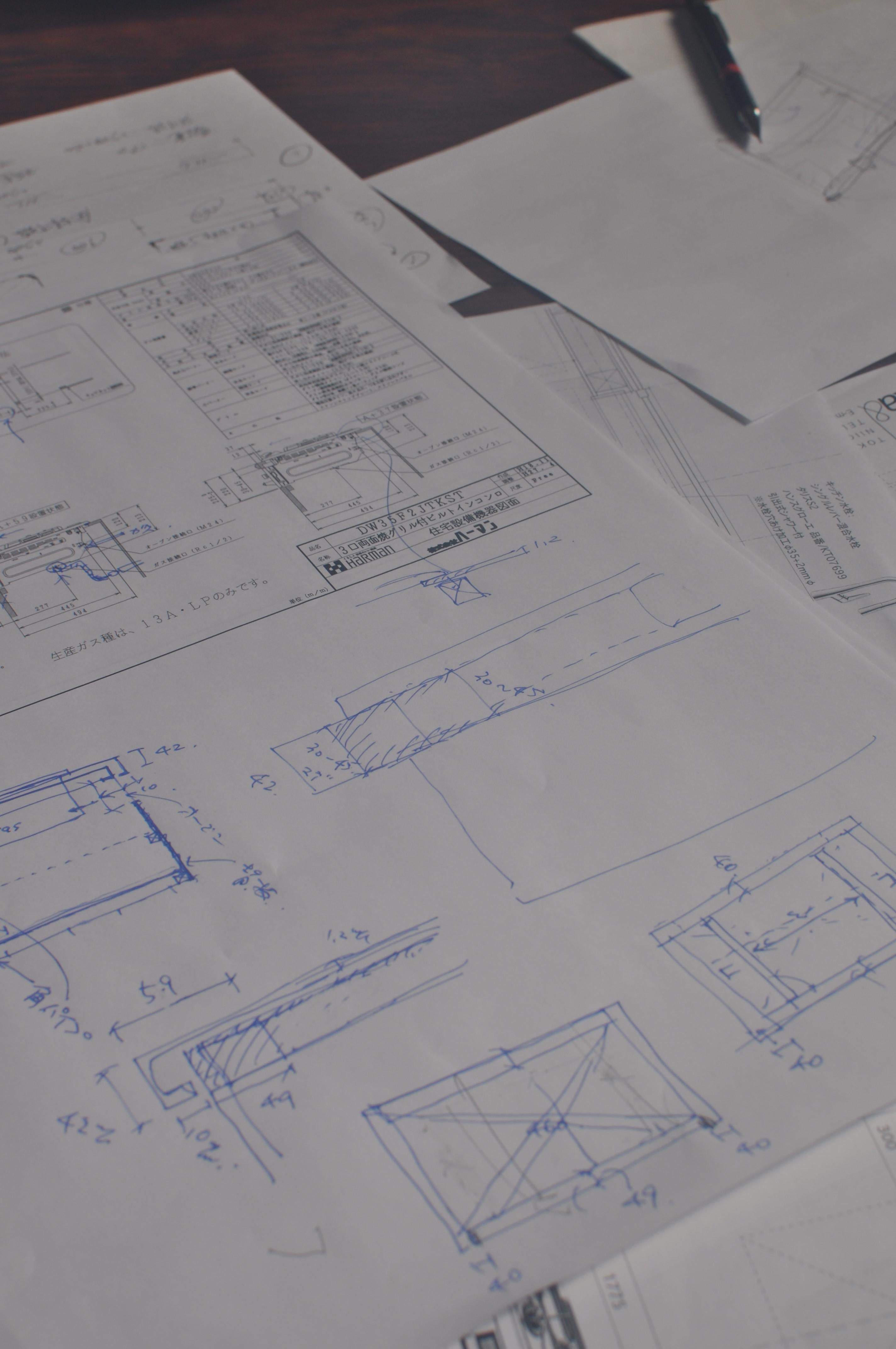 キッチン製作図001