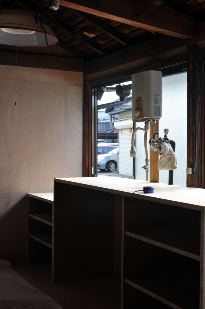 キッチンカウンター造作