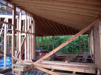 屋根垂木表し