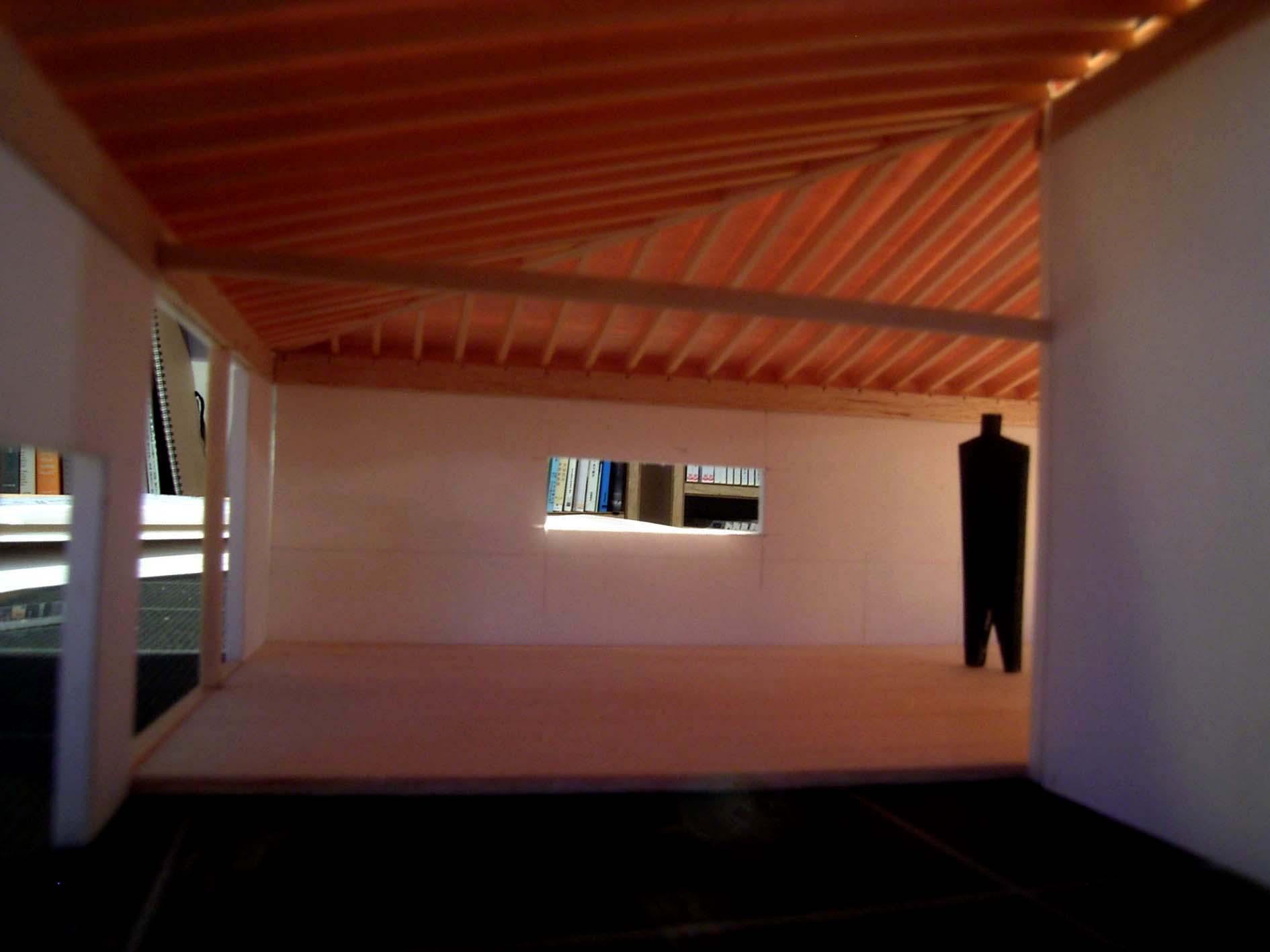 屋根架構模型