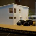 ユニベールハウス建築模型